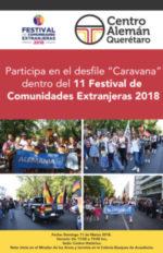 Desfile de las comunidades extranjeras 2018